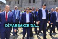 Bakan Murat Kurum Diyarbakır'a gitti