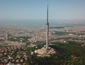 Küçük Çamlıca TV-Radyo Kulesi yıl sonunda tamamlanacak