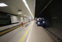 Üsküdar-Çekmeköy metrosunun test sürüşleri görüntülendi