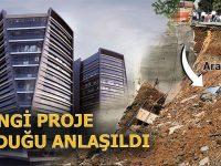 Ümraniye'de istinat duvarı çöken proje: Erkan Plaza