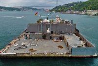 Galatasaray Adası'nda ikinci yıkım