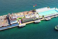 İBB ekipleri Galatasaray Adası'nda nöbet tutuyor
