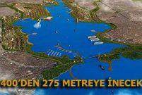 Kanal İstanbul'un eni daraltıldı, temeli bu yıl atılacak