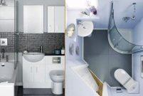 Küçük banyolar için büyük tasarımlar