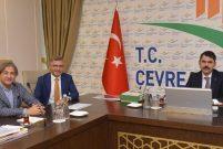 Kurum, Üsküdar ve Beyoğlu Belediye Başkanlarını kabul etti