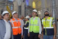 Bakan Kurum, Çamlıca Camii inşaatını inceledi