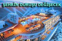Mersin Çamlıbel'e kurvaziyer limanı yapılacak