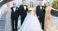 Hüseyin Ağaoğlu'nun oğlu evlendi