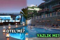 Tatil tercihi otellerden yazlıklara mı geçiyor?