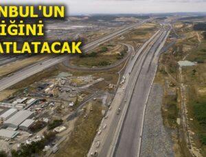 Kuzey Marmara Otoyolu'nda inşaat çalışmaları hızlandı