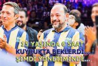 Evtiko'nun sahibi Sina Afra Fenerbahçe Yönetimi'ne atandı
