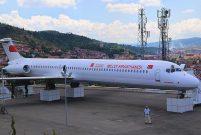 Kastamonu'daki eski uçak millet kıraathanesi oldu