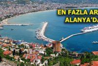 Antalya konut fiyatları son 1 yılda yüzde 18 oranında arttı