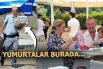 Ali Ağaoğlu helikopterle Bodrum'a yumurta ve baklava götürdü