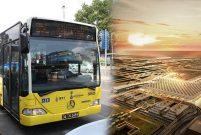 İstanbul Yeni Havalimanı için bagajlı otobüsler devrede