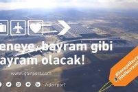 İstanbul Yeni Havalimanı'ndan bayram videosu