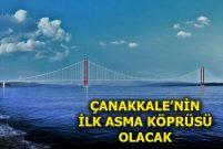 1915 Çanakkale Köprüsü inşaatı tüm hızıyla devam ediyor