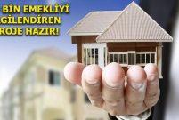 TÜED'den emekliler için 300 bin konut projesi