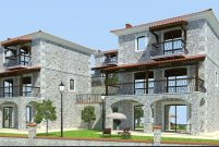 Foça Terrace Taş Evler'de villalar kişiye özel tasarlanıyor