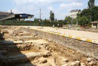Kadıköy'de rayların altından tarih çıktı