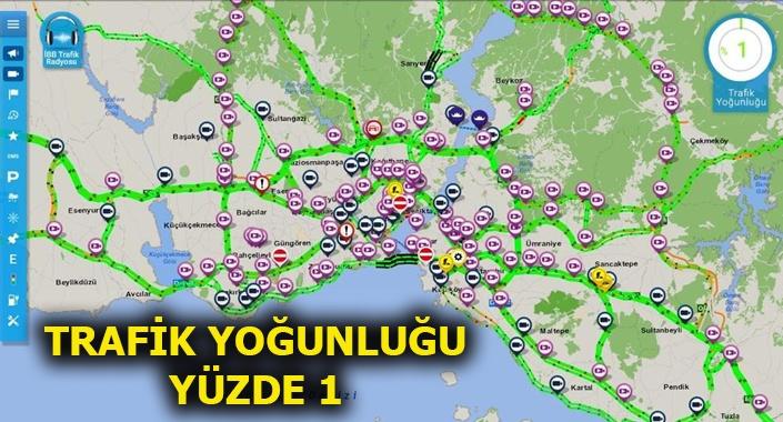 Bayram tatili, İstanbul trafiğini rahatlattı