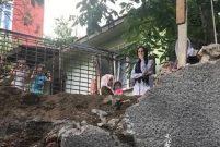 Kartal'da istinat duvarı çöken inşaat mühürlendi