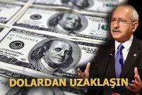Kemal Kılıçdaroğlu: İhalelerde dolar esas alınmasın
