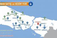 İşte İstanbul'daki kurban satış ve kesim alanları