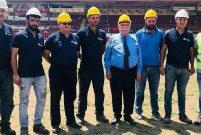Atatürk Stadı millet bahçesine dönüşmek için gün sayıyor