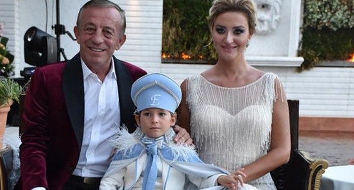 Ali Ağaoğlu'ndan oğlu Ali Ege'ye dillere destan sünnet düğünü