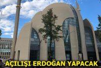 DİTİB Köln Merkez Camisi'nde son hazırlıklar yapılıyor