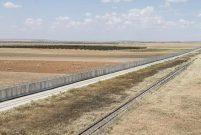 TOKİ'nin inşa ettiği Suriye sınır duvarının yüzde 93'ü bitti
