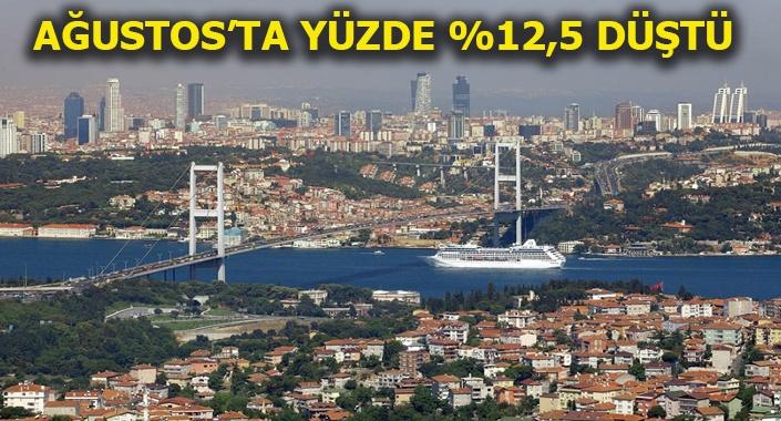 Türkiye genelinde Ağustos'ta 105 bin 154 konut satıldı