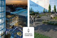 İstanbul Tower 205'e European Property Awards'dan 2 ödül