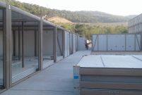 Karmod, Akkuyu Nükleer Santrali'ne şantiye yapıları kuruyor