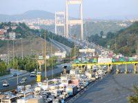 Köprü ve otoyollardan 8 ayda 1.2 milyar liralık gelir