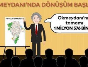 Okmeydanı Kentsel Dönüşüm Projesi infografik filmle anlatıldı