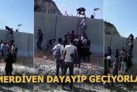TOKİ'nin sınır duvarı soruna çare olmuyor mu?