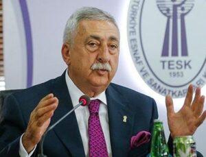 Bendevi Palandöken üçüncü kez TESK başkanı oldu