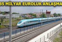 Türkiye'nin demiryolu hatlarını Almanya ve Siemens yapacak