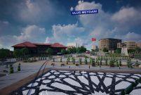 Ulus Meydanı Projesi gelecek yıl tamamlanacak