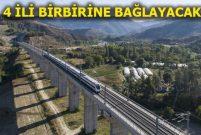 Ankara-Sivas YHT hattı 2019'da hizmete girecek