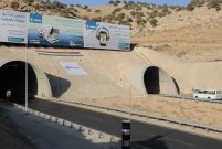 Limak İnşaat'ın yapımını üstlendiği Zaho Tüneli açıldı