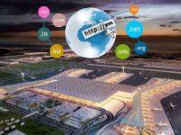 Fırsatçılar yeni havaalanının olası alan adlarını topladılar