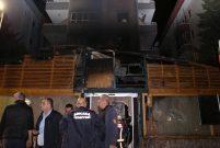 Ankara'da ünlü sanatçıların da sahneye çıktığı restoran yandı