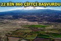 Hazineye ait tarım arazilerine yoğun talep