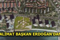 Baruthane arazisi Millet Bahçesi olacak