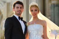 Çağla Baykam ile Efe Bezci Çırağan Sarayı'nda evlendi