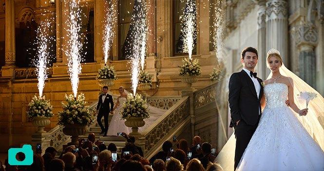 Çağla Baykam ile Efe Bezci'nin düğününden kareler