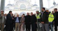 Cumhurbaşkanı Erdoğan, Çamlıca Camisi'ni inceledi